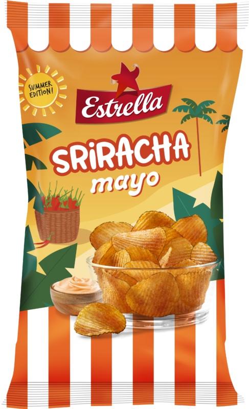 Estrella Sriracha Mayo Chips 250g