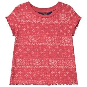 Ralph Lauren Bandana T-shirt Röd XL (16 years)