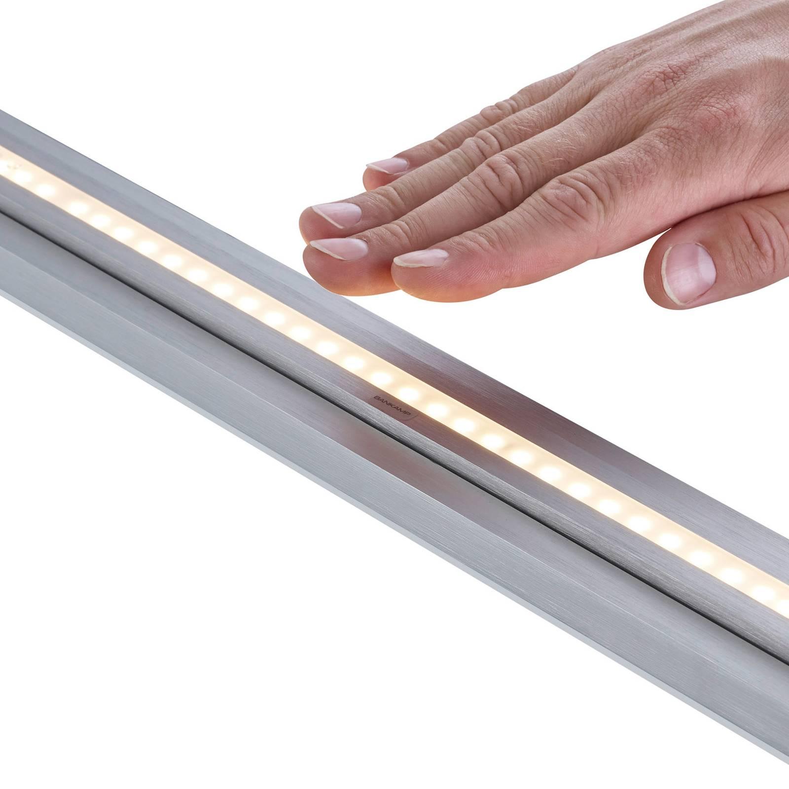 BANKAMP L-lightLINE LED ZigBee up/down nikkeli