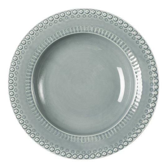 PotteryJo - Daisy Serveringsskål 35 cm Cement