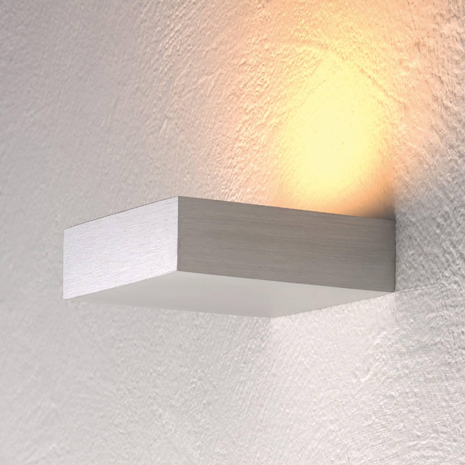Diskre LED-uplight Cubus for vegg