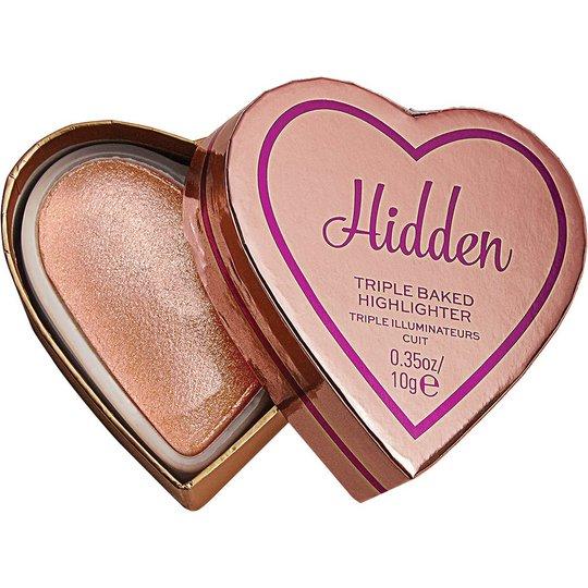 I Heart Revolution Glow Hearts Hardly Hidden Highlighter, Makeup Revolution Highlighter