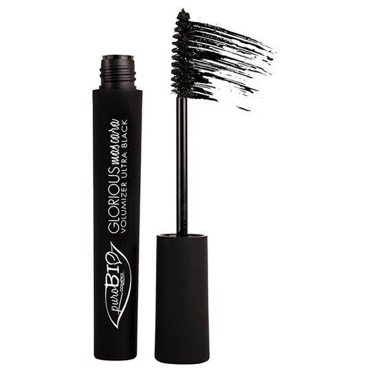 puroBIO Cosmetics Glorious Mascara Volumizer - Ultra Black, 7 ml