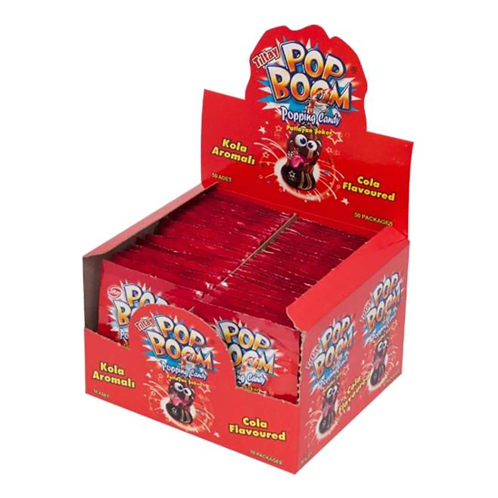 Pop Boom Cola - 50-pack