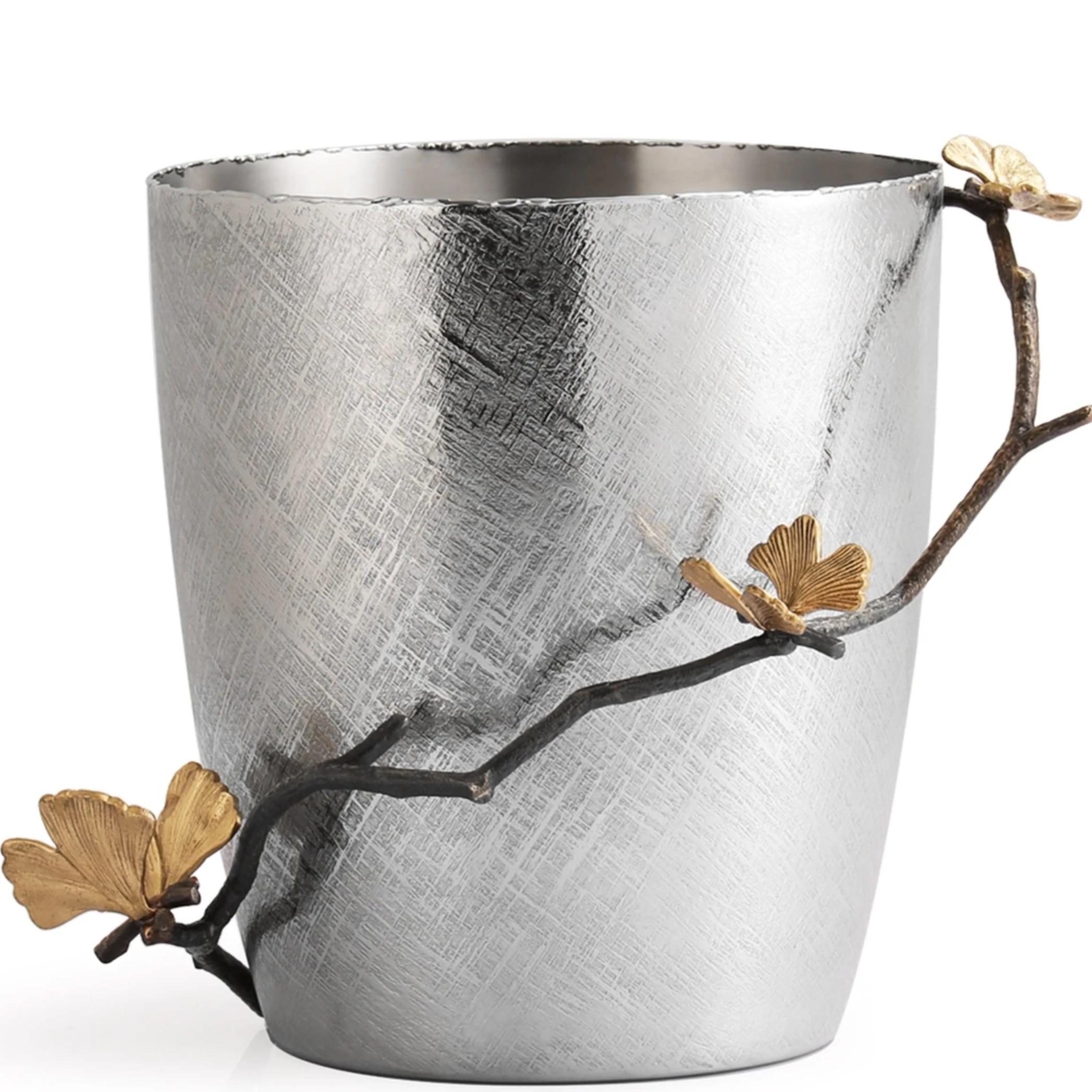 Michael Aram I Butterfly Ginkgo Ice Bucket