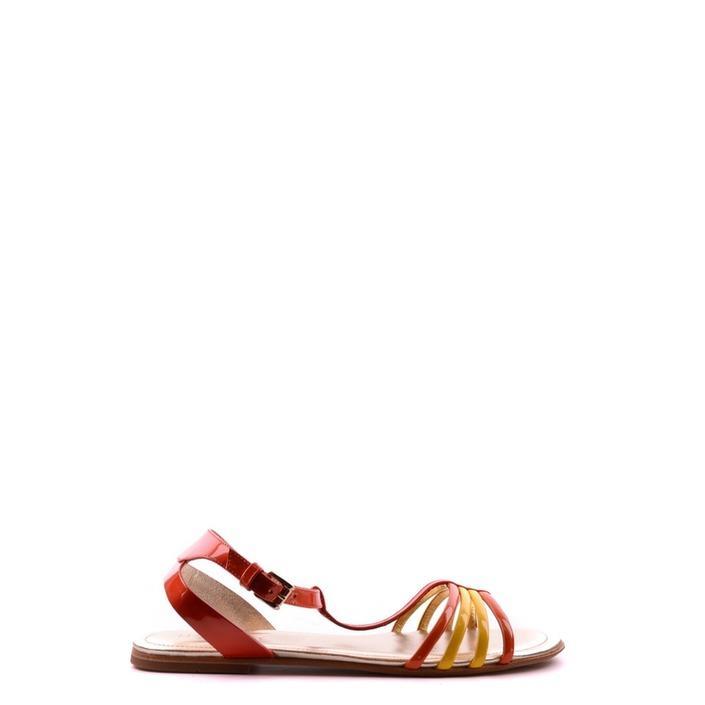 Hogan Women's Sandal Orange 164287 - orange 36.5