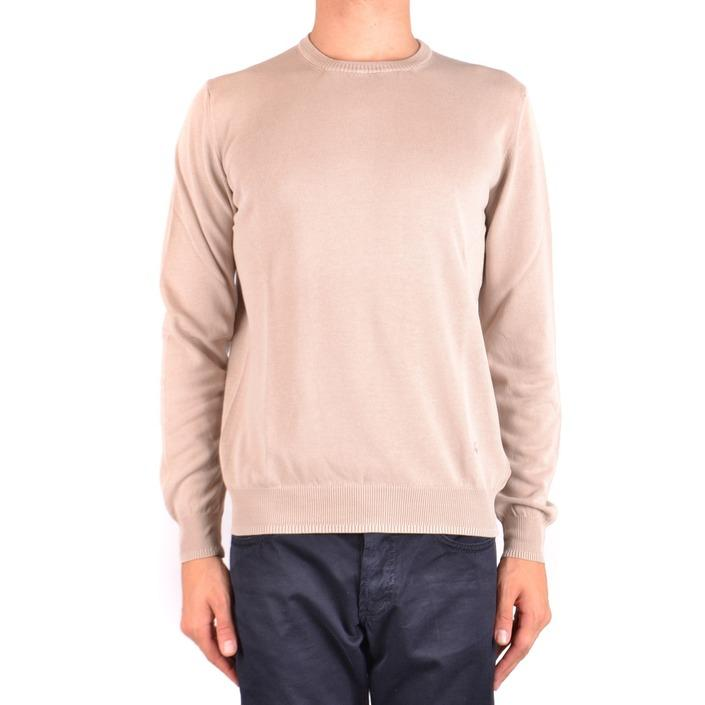 Fay Men's Sweater Beige 163800 - beige 54