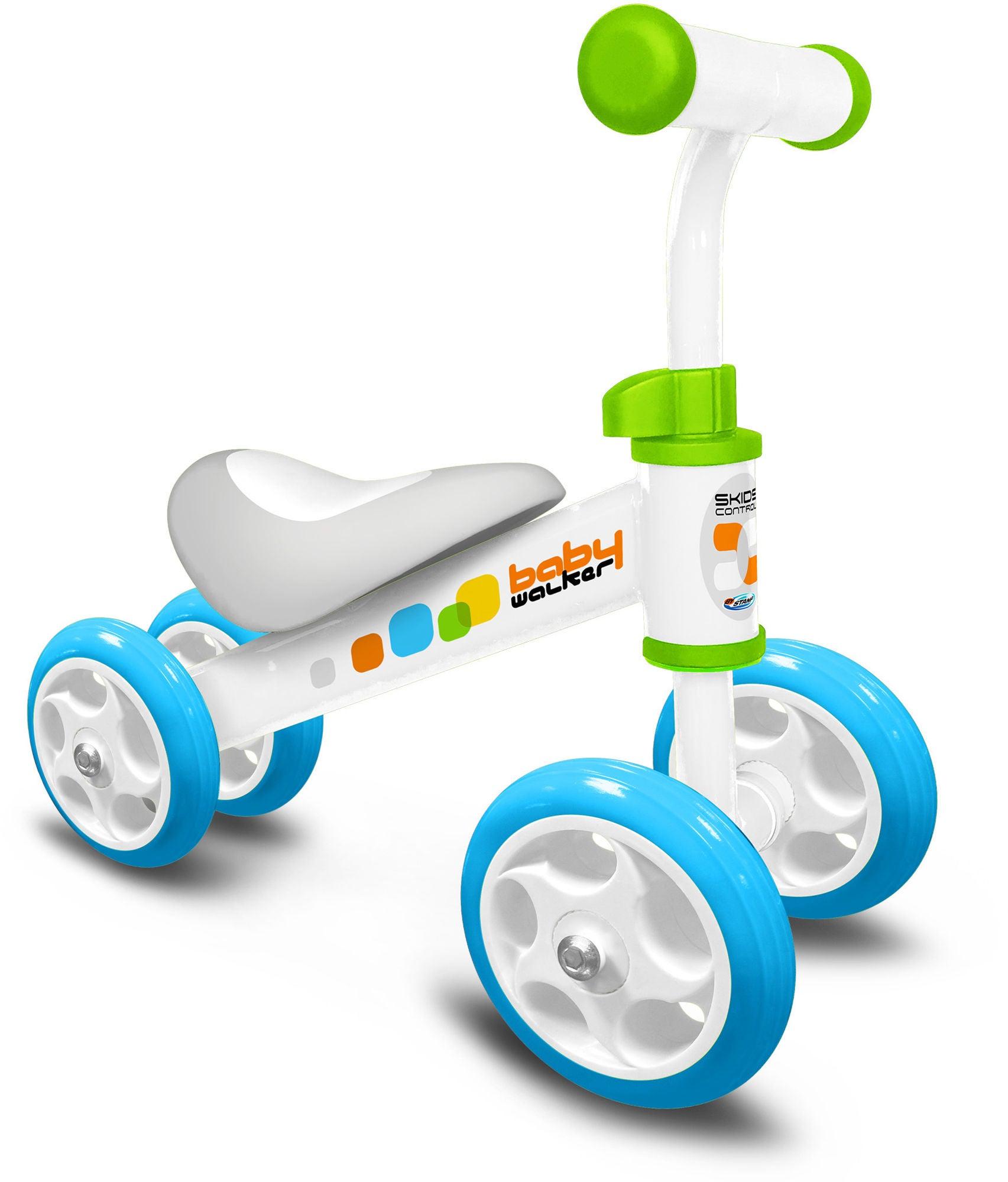 Stamp Springcykel Fyrhjuling, Blå
