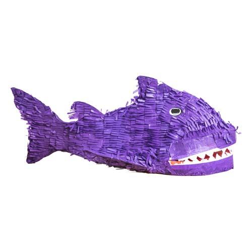 PIÑATA FISK LILA