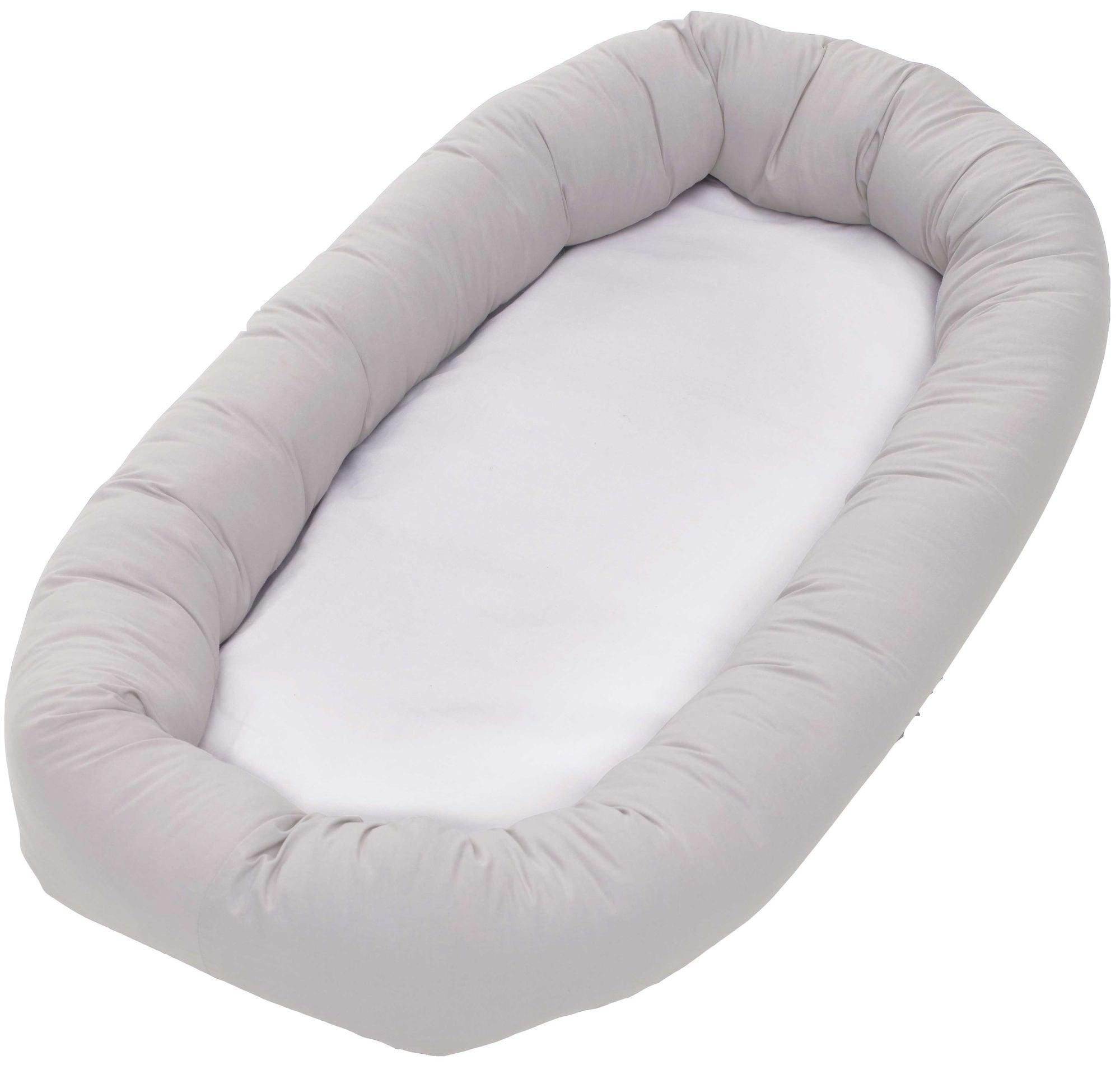 BabyDan Cuddle Nest Unipesä, Harmaa