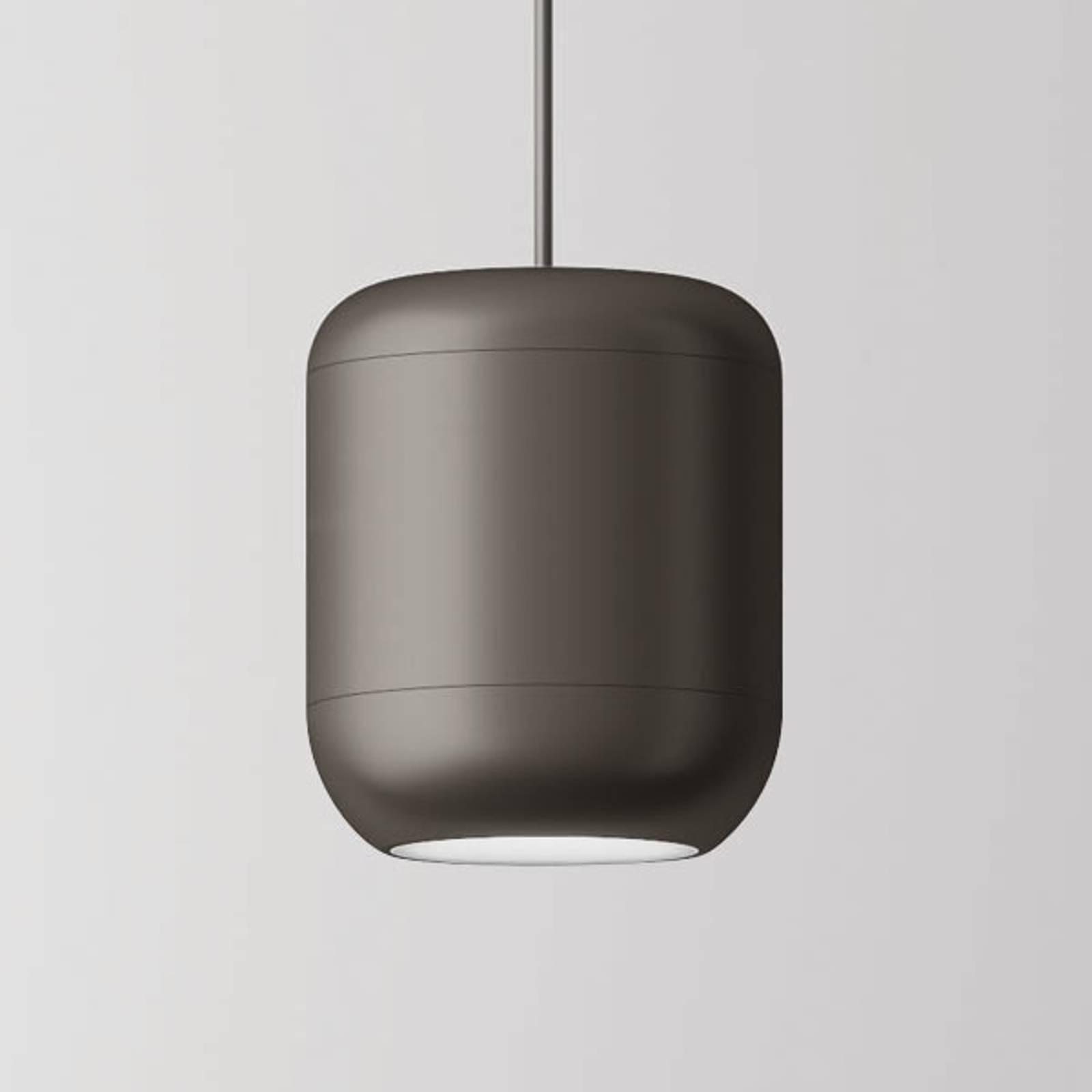 Axolight Urban LED-riippulamppu 26cm nikkeli matta