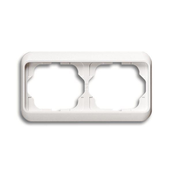 ABB 1754-0-1801 Peitekehys pystysuora, valkoinen Kaksiosainen
