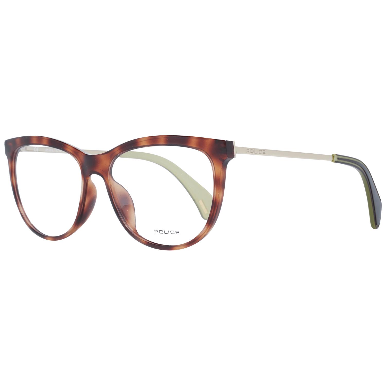 Police Women's Optical Frames Eyewear Brown PL625 5309AJ