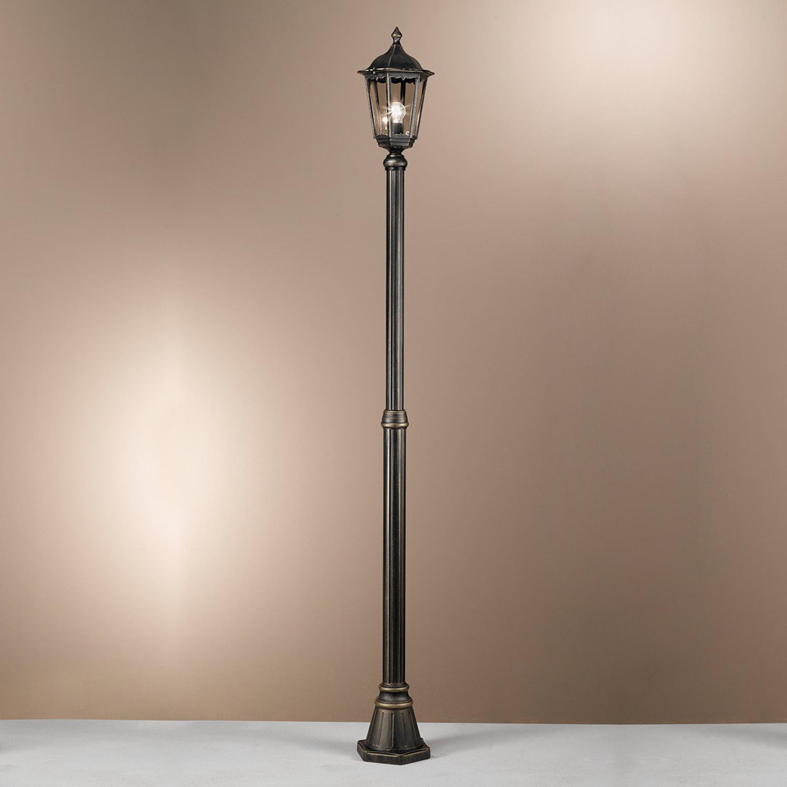 Yksilamppuinen lyhtypylväs Fabio, 249 cm