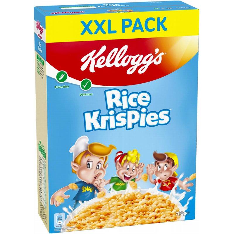 Rice Crispies -riisimurot XXL 700 g - 40% alennus