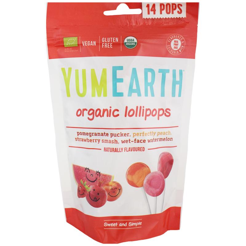 """Luomutikkarit """"Fruit Pops"""" 85g - 70% alennus"""