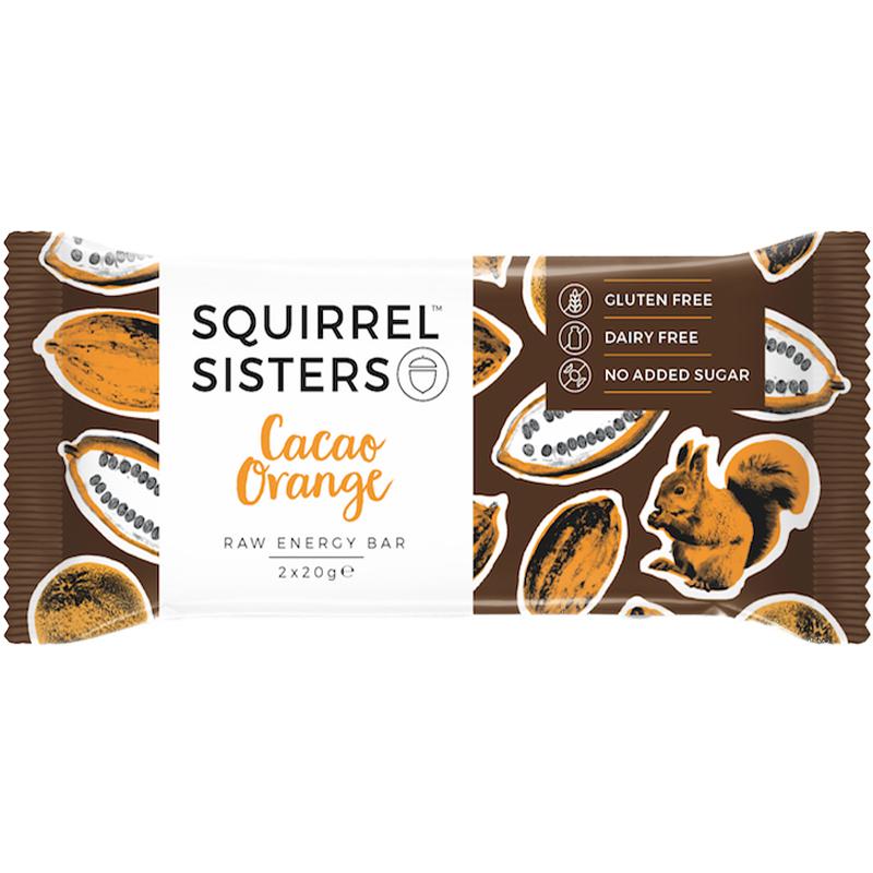 "Rawbar ""Cacao & Orange"" 2 x 20g - 48% rabatt"