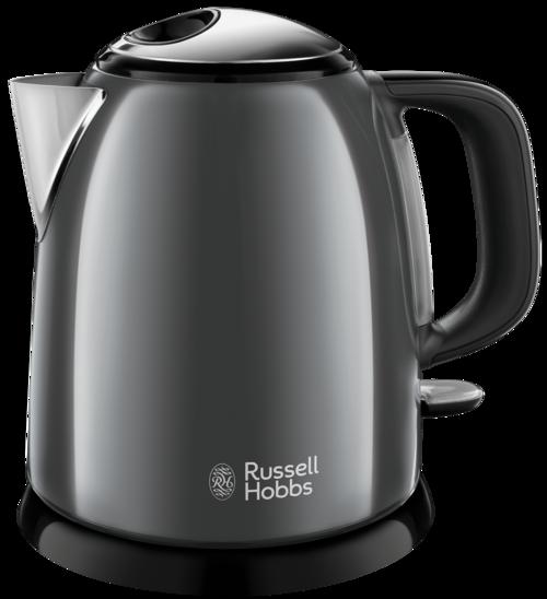 Russell Hobbs Colours Plus Mini Kettle Grey Vattenkokare - Grå