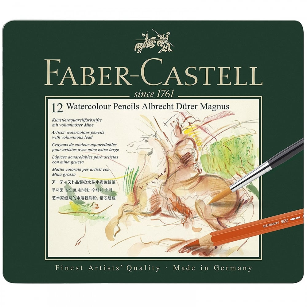 Faber-Castell - Watercolour pencil Albrecht Dürer Magnus 12 pc tin (116912)