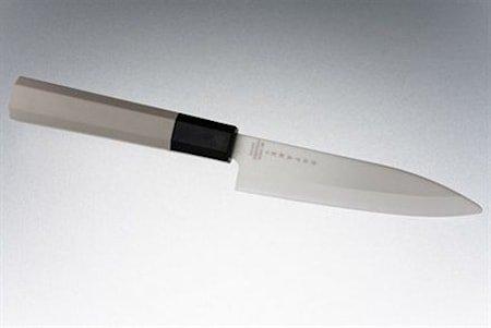 Keramisk skallkniv 11 cm hvit