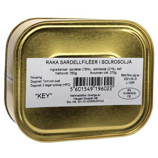 Sardeller I Solrosolja - 27% rabatt