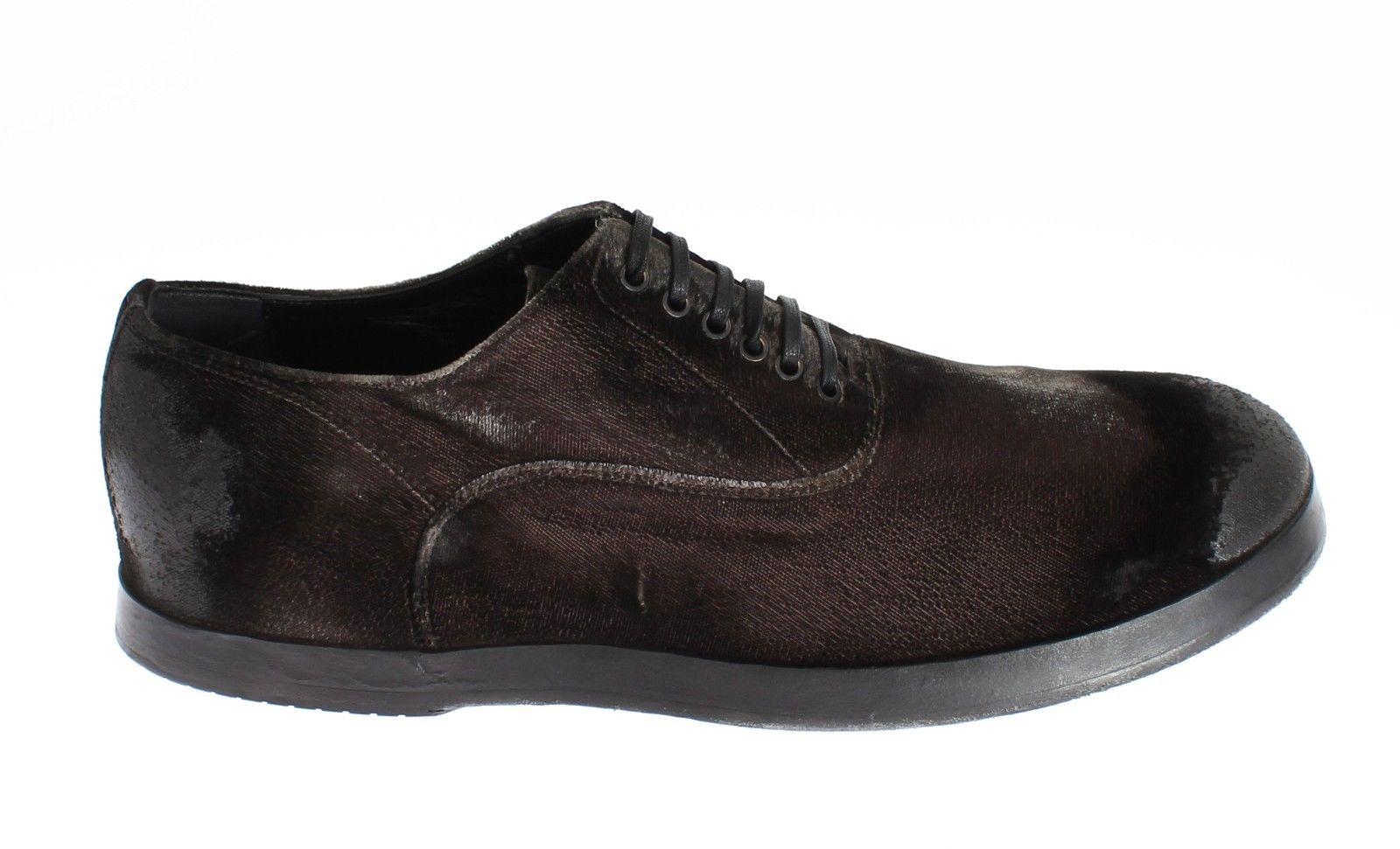 Dolce & Gabbana Men's Casual Laceups Oxford Shoe Brown SIG11073 - EU40.5/US7.5