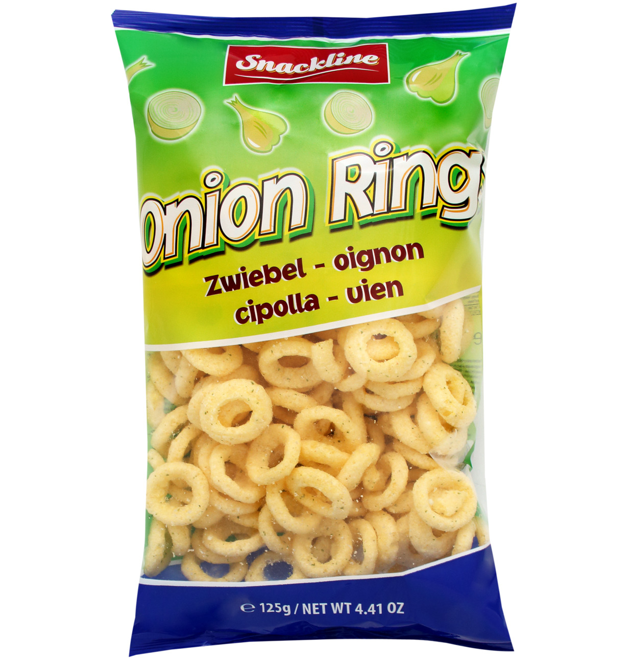 Snackline Onion Rings 125g