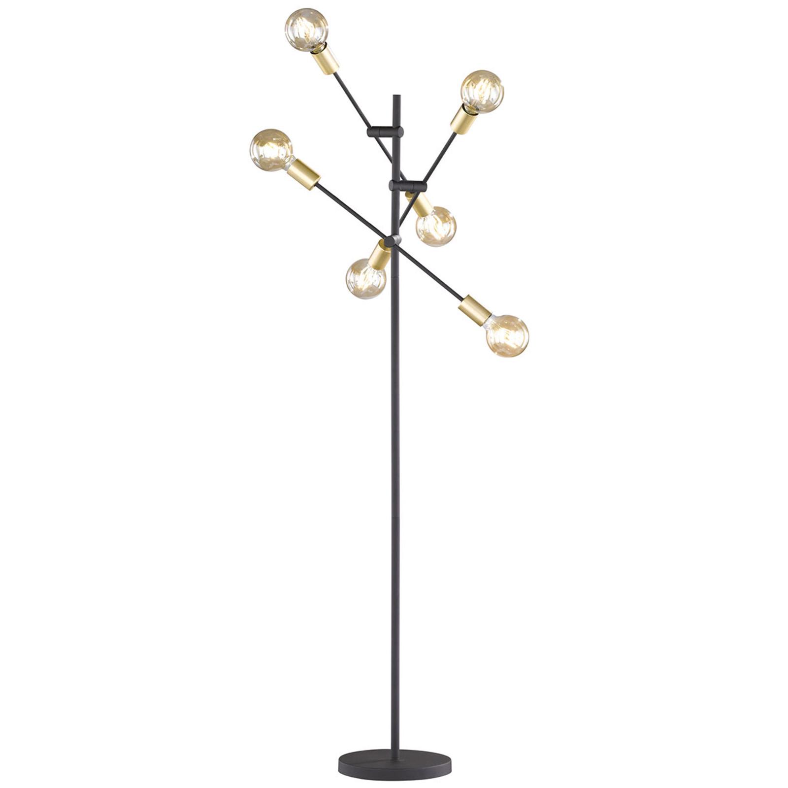 Lattiavalo Cross, trendikäs musta-kulta-muotoilu