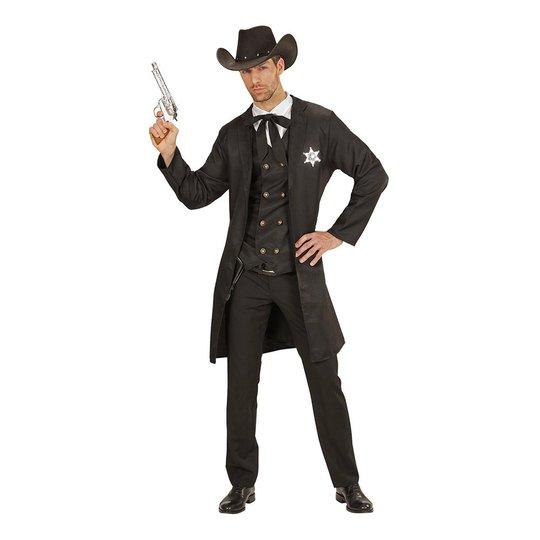 Sheriff Svart Maskeraddräkt - Medium/Large