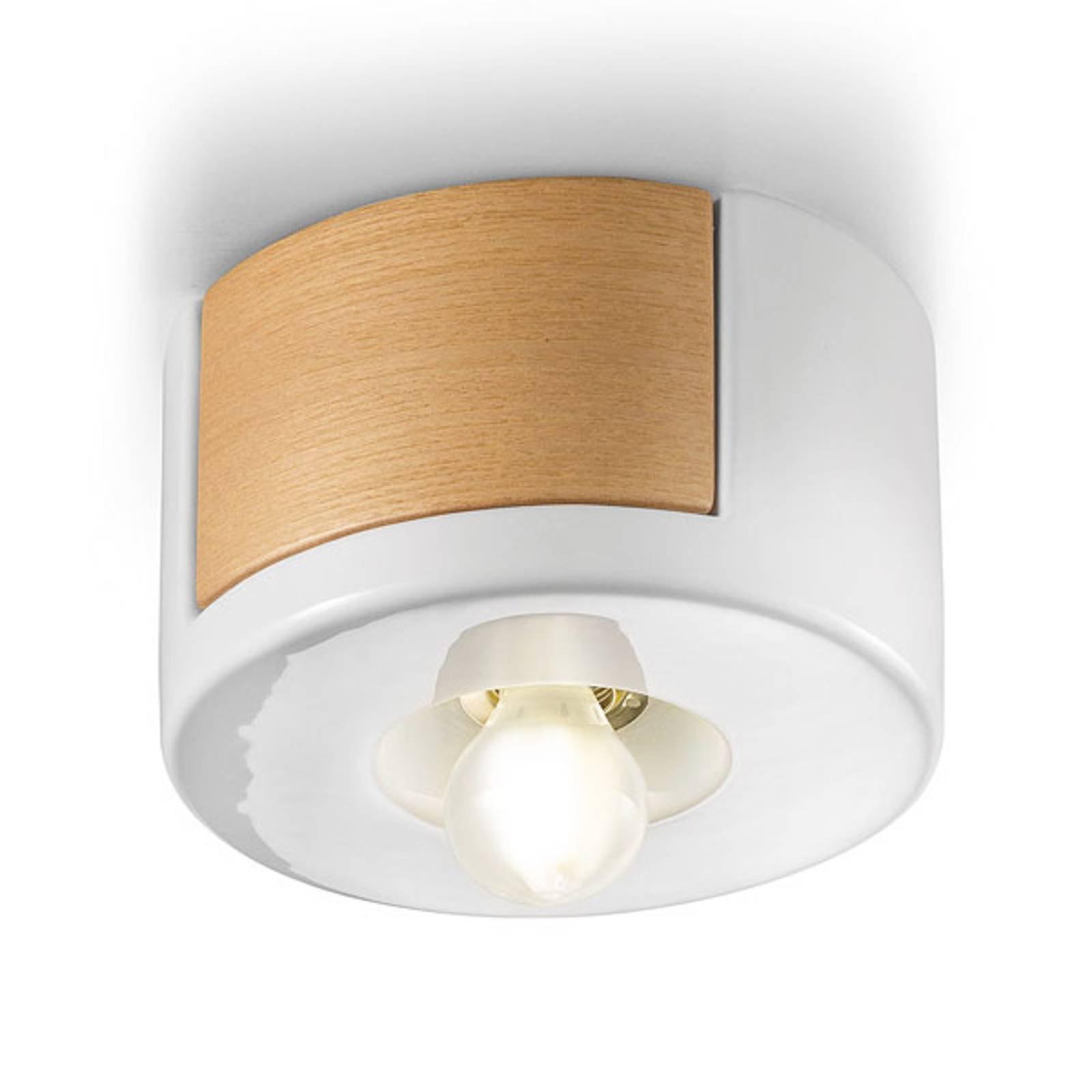 Taklampe C1791 i skandinavisk stil hvit
