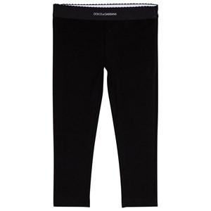 Dolce & Gabbana Branded Leggings Svart 6 years