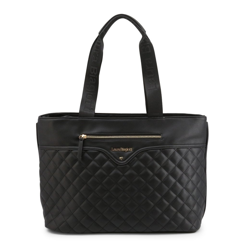 Laura Biagiotti Women's Shoulder Bag Various Colours Perkins-102-6 - black NOSIZE
