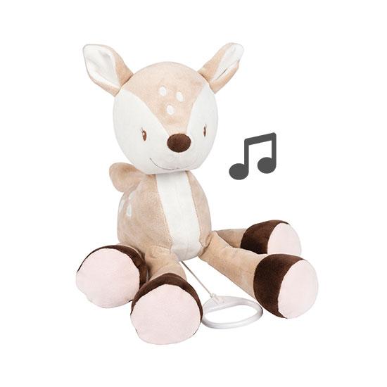 Nattou - Music Cuddling Animal - Fanny & Oscar Deer