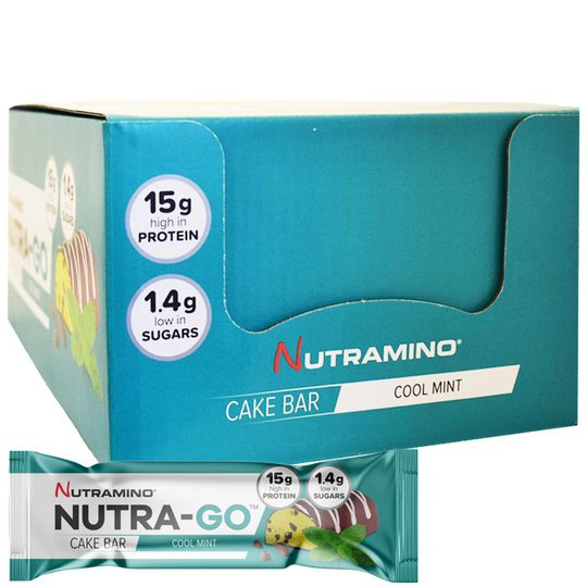 """Laatikollinen Proteiinipatukoita """"Cool Mint"""" 12 x 57g - 65% alennus"""