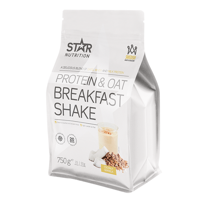 Protein & Oat Breakfast Shake, Coconut/Granola, 750 g