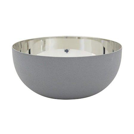Patrick Skål 15,5 cm Grå/Sølv