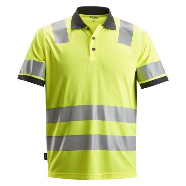 Snickers 2730 AllroundWork Pikéskjorte varsel, gul XS