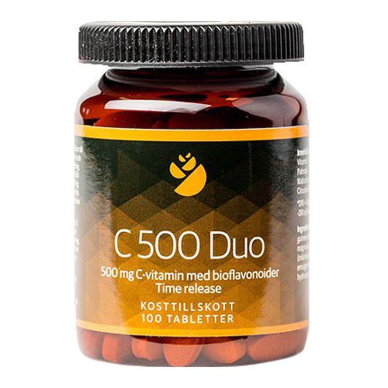 "Kosttillskott ""C 500 Duo"" 100-pack - 78% rabatt"