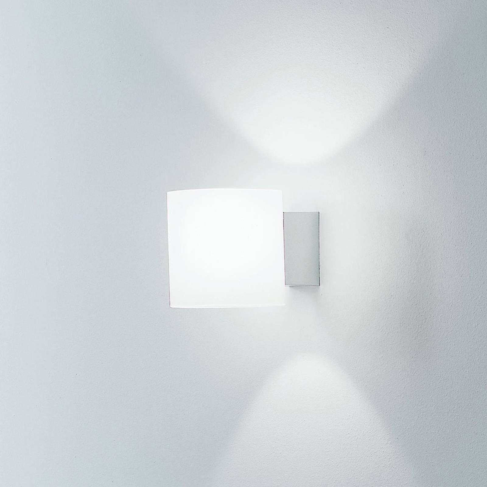 Martinelli Luce Tube -seinälamppu, lasia 10 cm