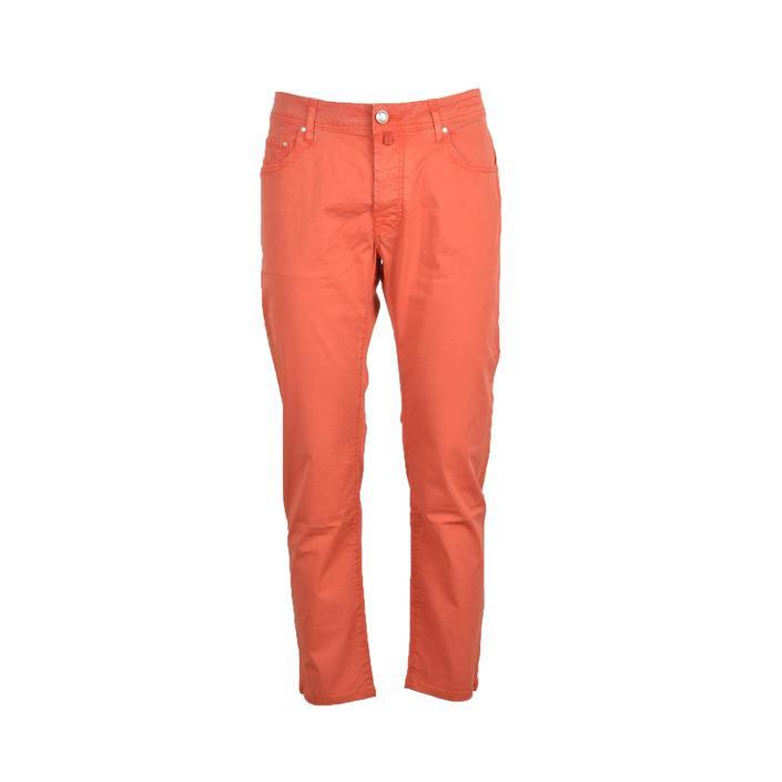 Jacob Cohen Men's Trouser Coral 218666 - coral 42