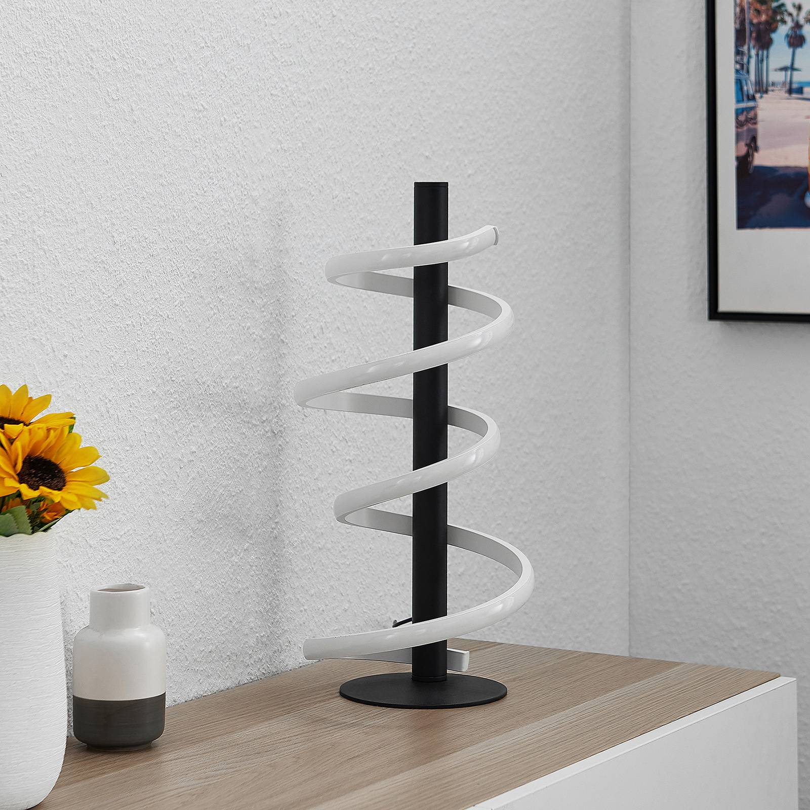 Lucande Kimri -LED-pöytälamppu