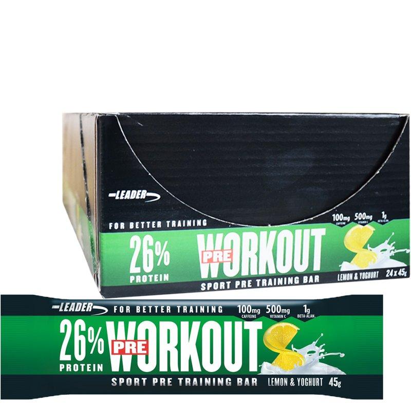 """Laatikollinen """"Pre workout"""" Patukoita 45g - 71% alennus"""