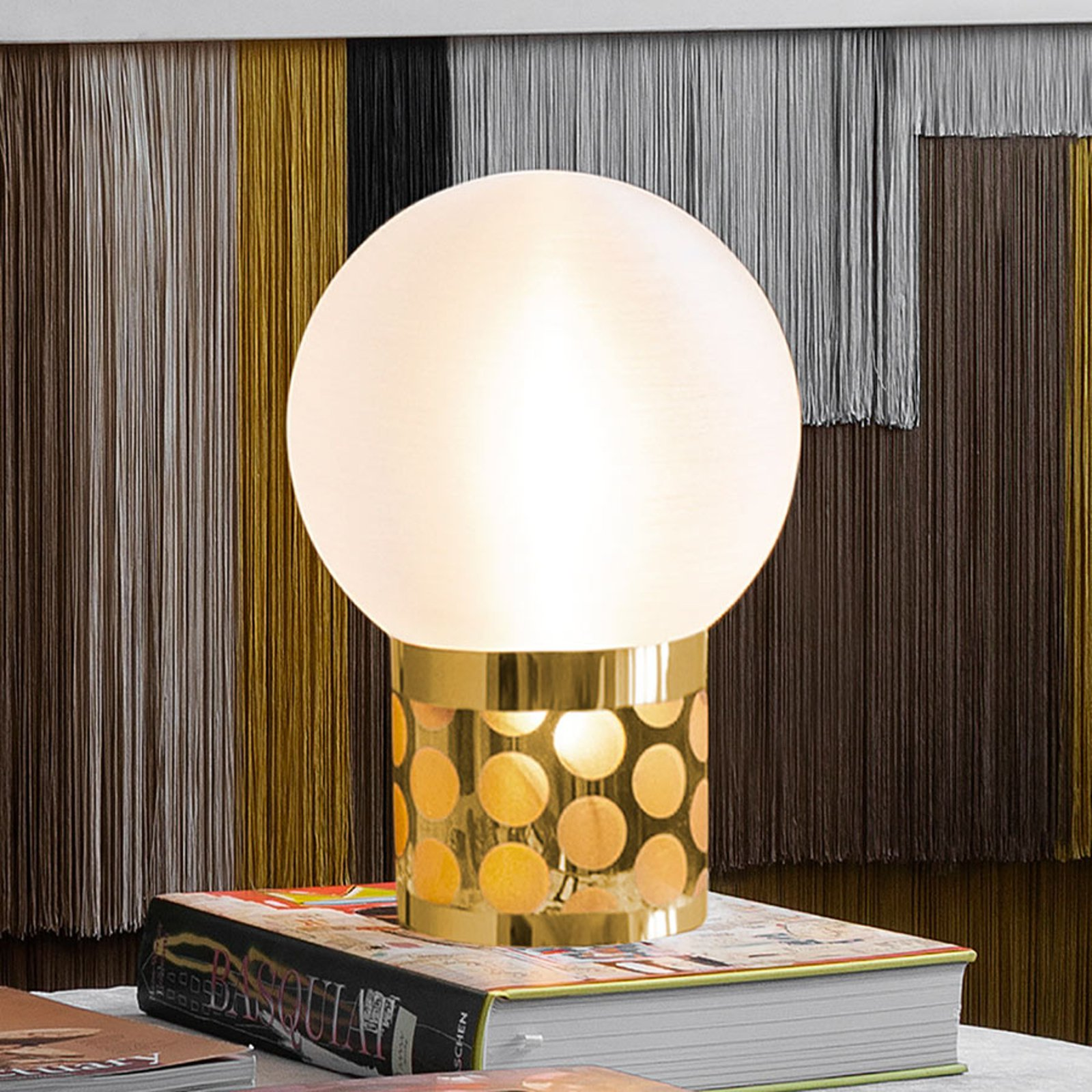 Slamp Atmosfera bordlampe, Ø 20 cm, gull