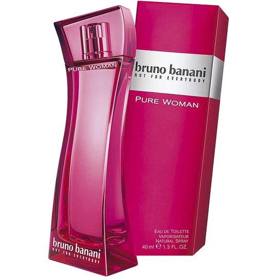 Bruno Banani Pure Woman EdT, 40 ml Bruno Banani Hajuvedet