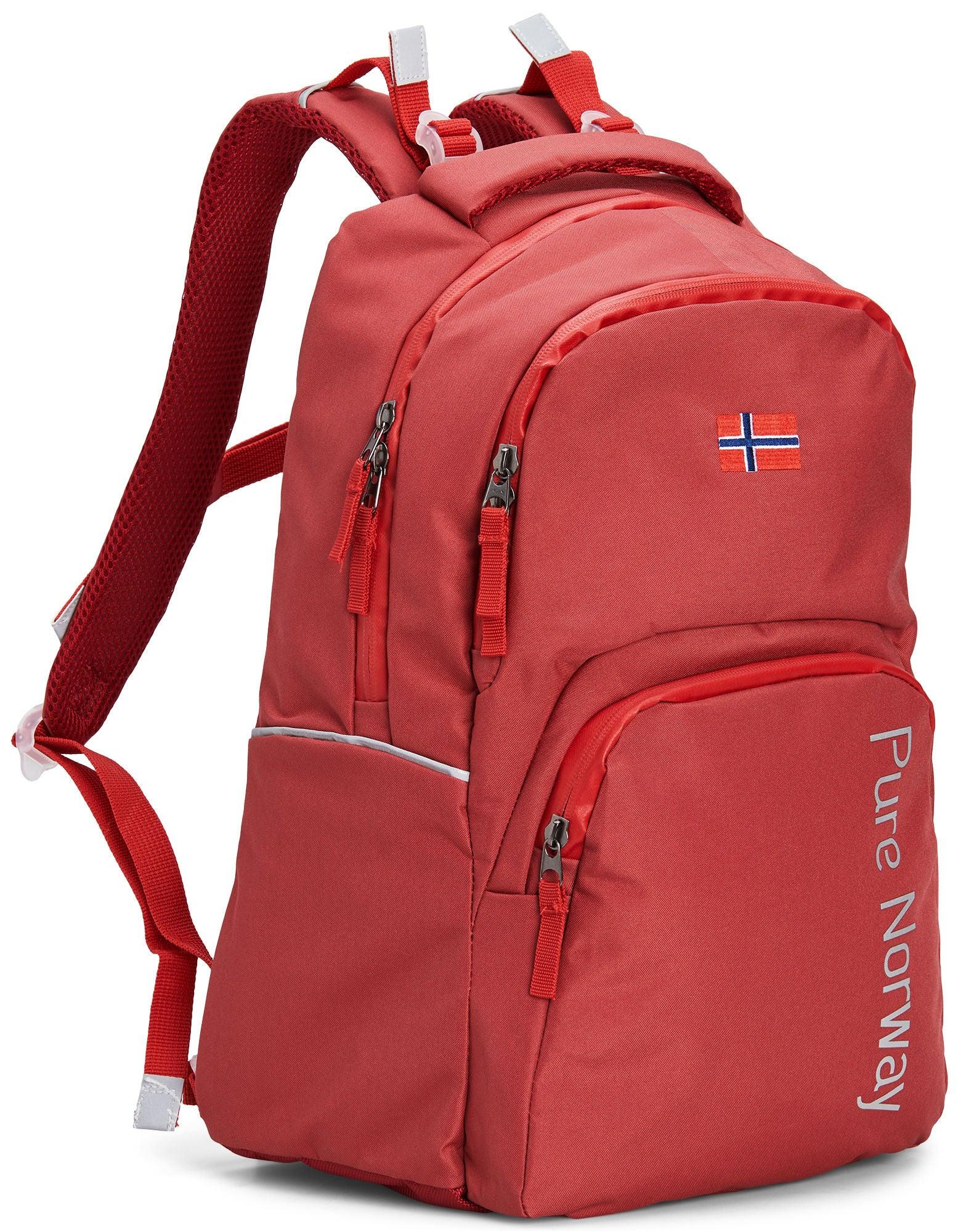 Pure Norway Free Waterproof Ryggsäck, Röd