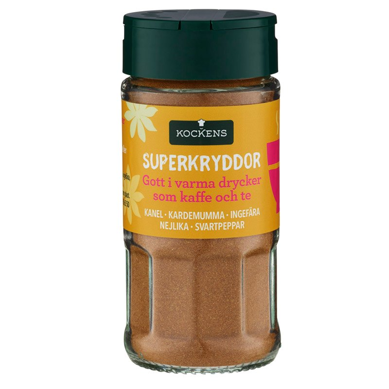 Superkryddor Chai - 25% rabatt