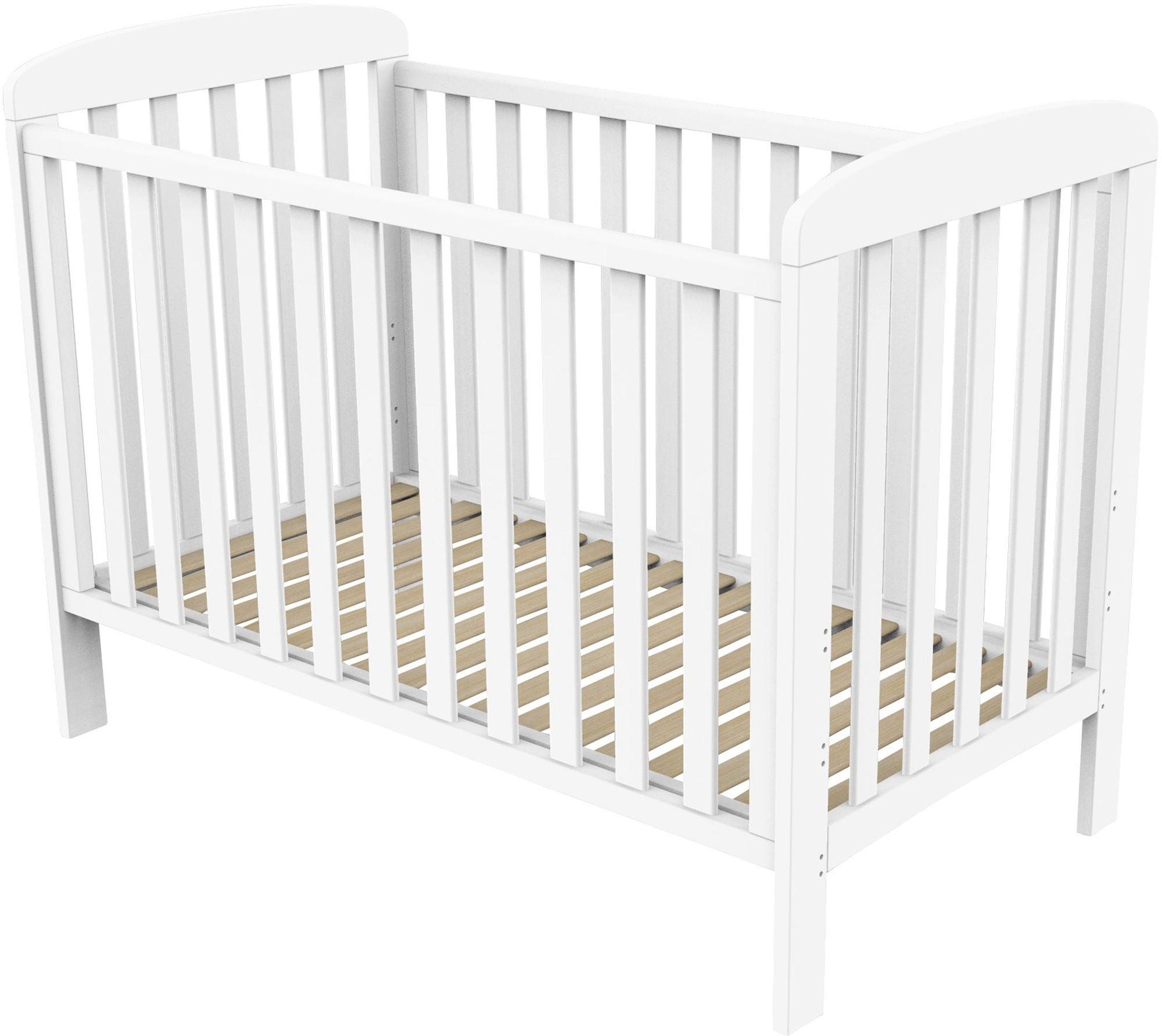 BabyDan Pinnasänky Sofie 60x120, Valkoinen