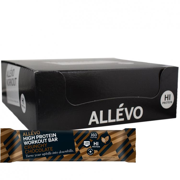 Proteiinipatukoita Crunchy Chocolate 18kpl - 67% alennus