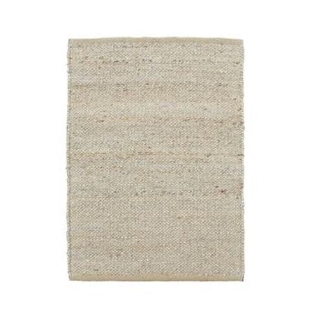 Matta Hempi Ljusgrå 60x90 cm