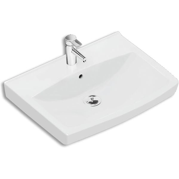 Ifö Spira 15020 Vaskeservant 57 cm, uten kranhull